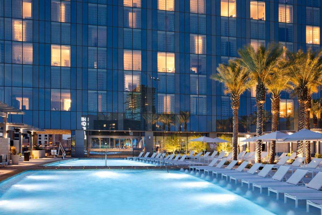 Fairmont Austin romantic pool view rooms