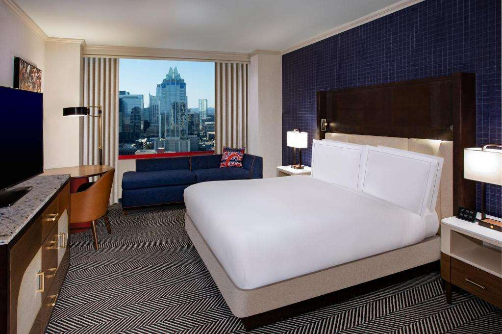 Hilton Austin sexy room