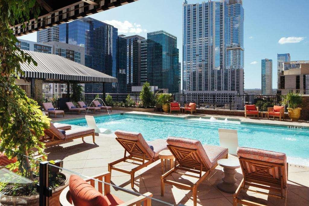 Hotel ZaZa Austin pool