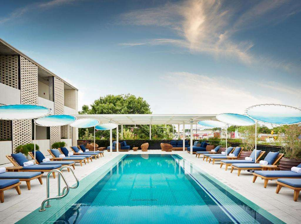 South Congress Hotel rooftop pool