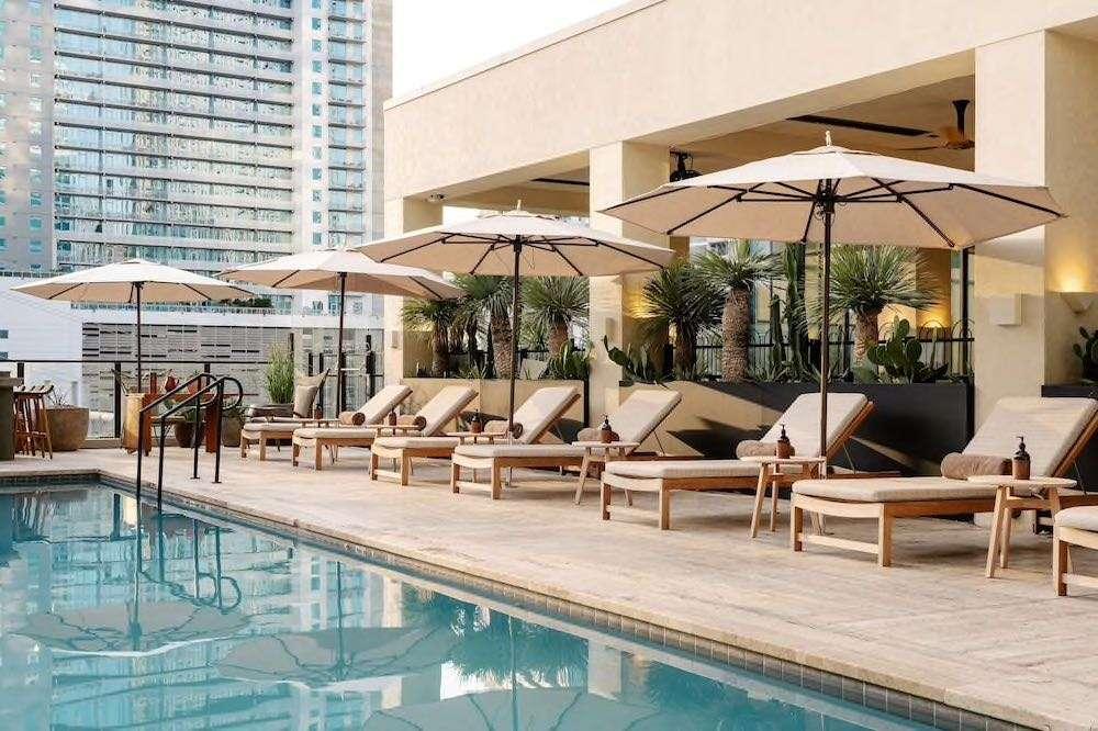 Austin Proper Hotel Rooftop Pool