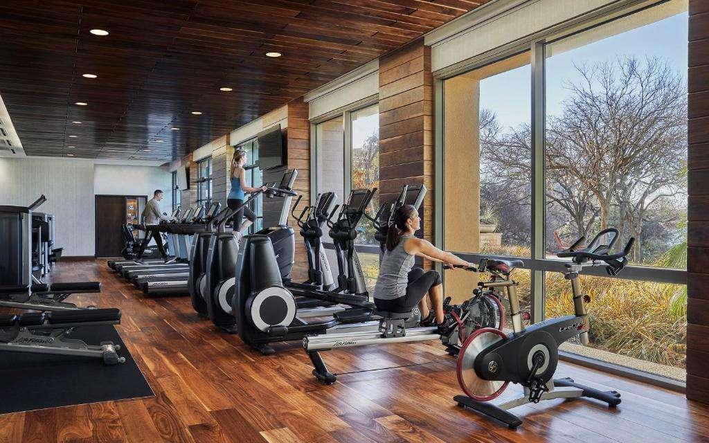 Four Seasons Hotel Austin fitness center