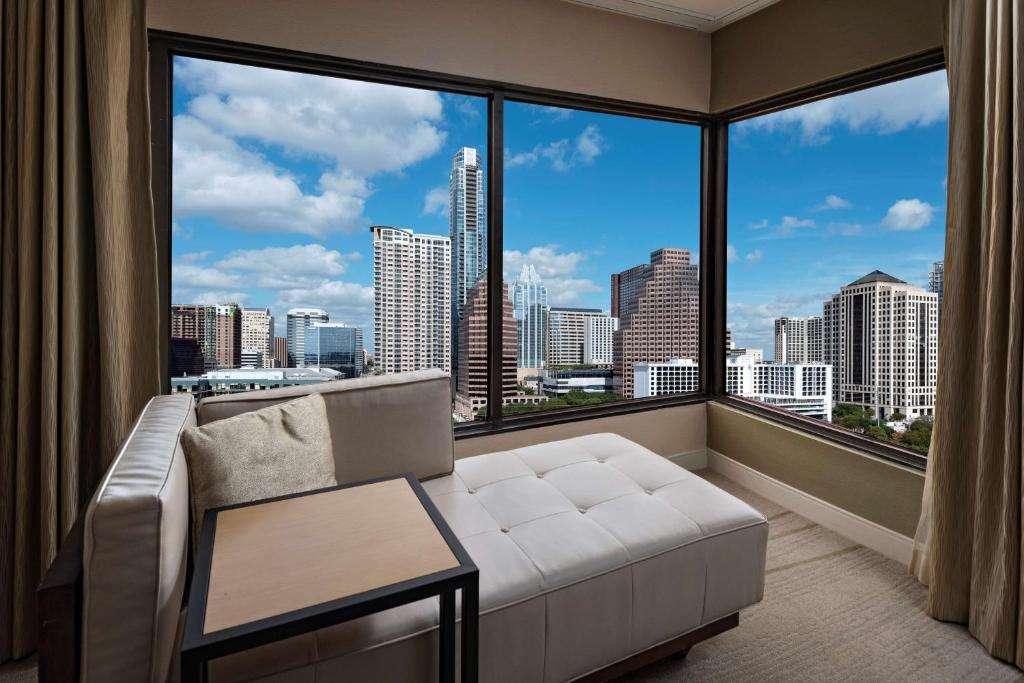 Hyatt Regency Austin sex couch