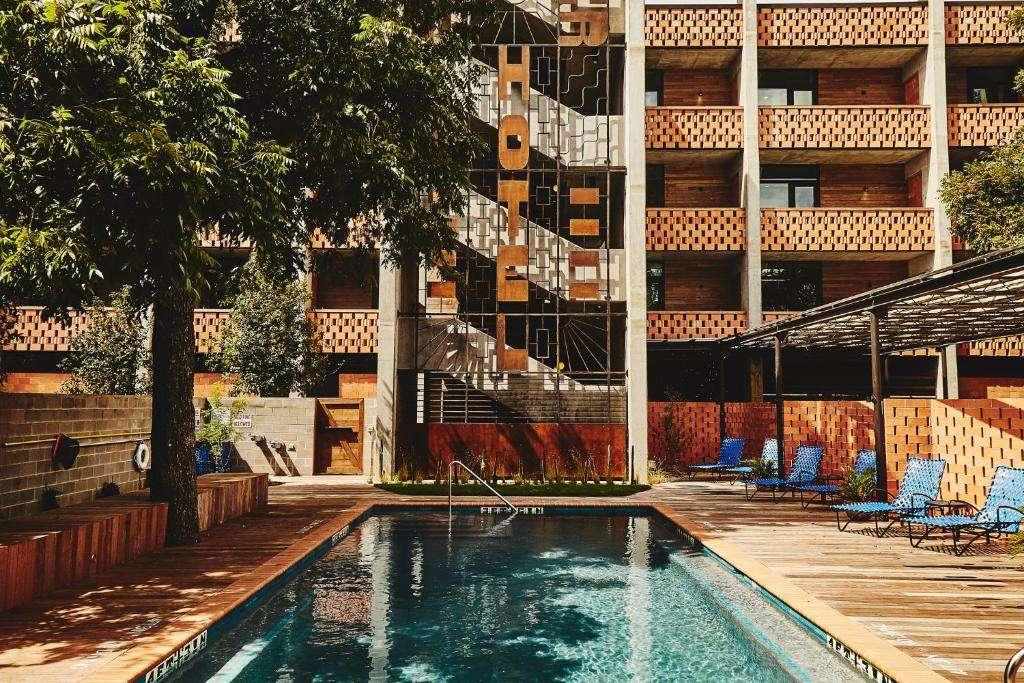 The Carpenter Hotel pool