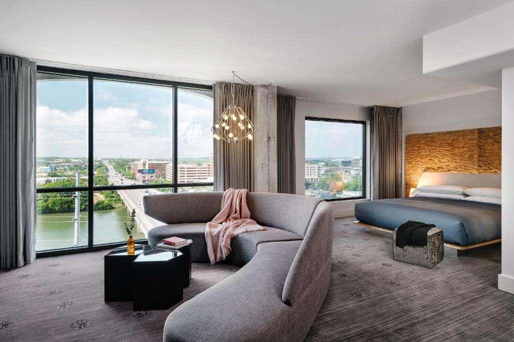 The LINE Austin romantic suite