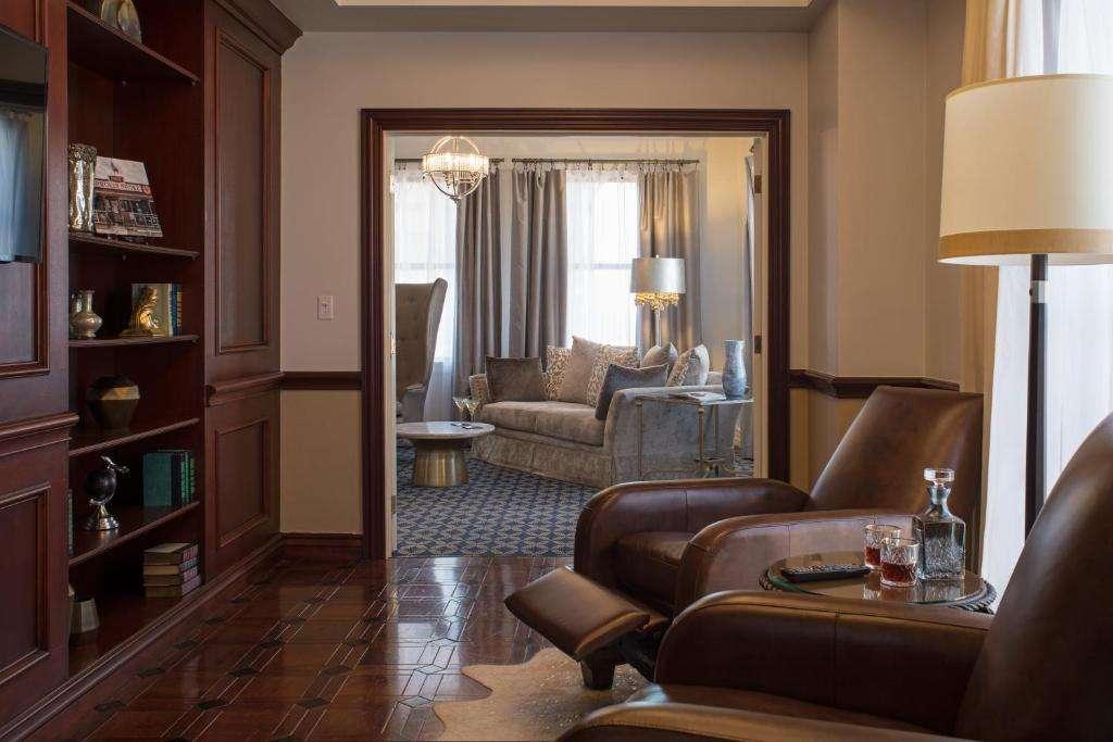 The Stephen F Austin Royal Sonesta Hotel executive suite
