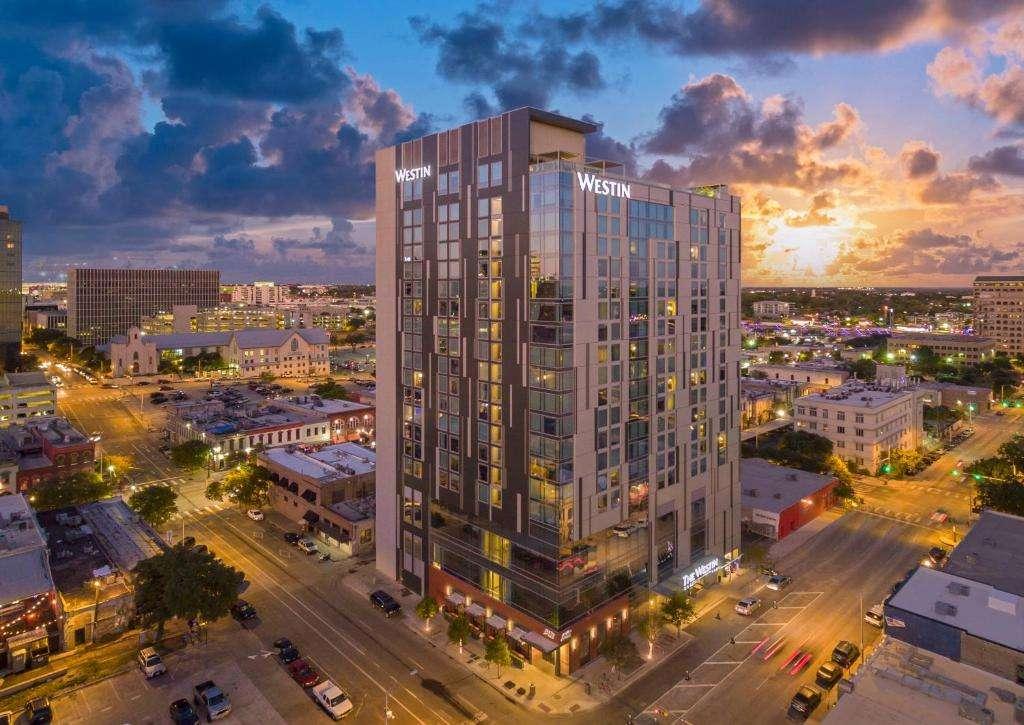 The Westin Austin Downtown Hotel near 6th Street