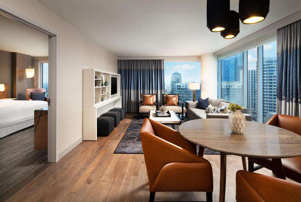 The Westin Austin Downtown luxury suite