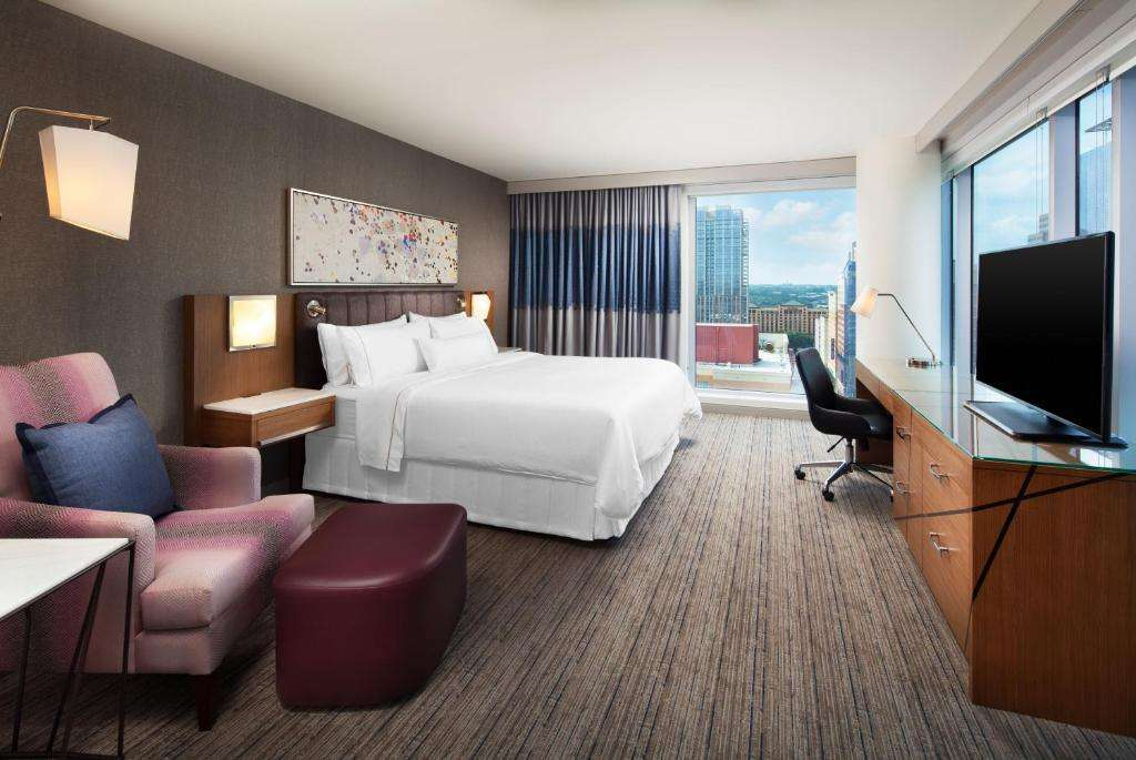 The Westin Austin Downtown suite for couples